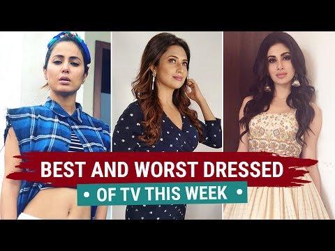 Hina Khan, Divyanka Tripathi, Karishma Tanna : TV's Best and Worst Dressed of the Week thumbnail