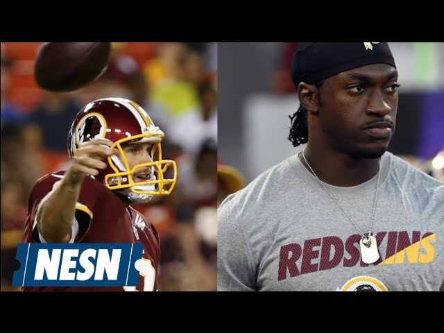 Kirk Cousins To Start Week 1; Redskins Shopping RGIII?