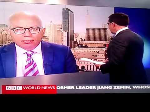 A wrong guest to a wrong program, live on BBC World News: