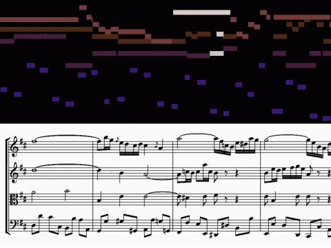 Бах Иоганн Себастьян - Air On A G String Violin Duett