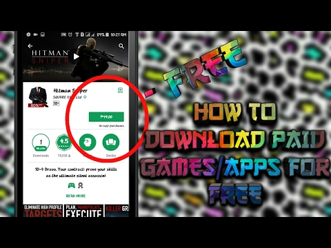 How To Get Paid Games/Apps For Free!!