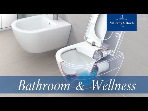 rimless ceramic toilet o novo wc directflush by villeroy boch. Black Bedroom Furniture Sets. Home Design Ideas