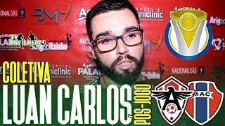 [Série D '19] Coletiva Luan Carlos | Pós-jogo FC Atlético/CE 4 X 3 Maranhão AC | TV ARTILHEIRO