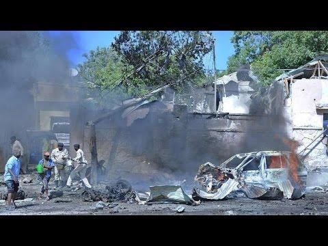 Large blast heard in centre of Somali capital