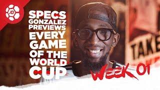 Portugal Vs Spain, England Vs Tunisia, Brazil Vs Switzerland Previews with Specs Gonzalez