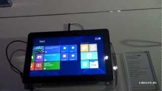 Samsung Ativ Tab Hands On - english @ IFA 2012