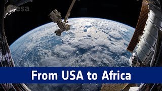 Horizons mission time-lapse – from USA to Africa