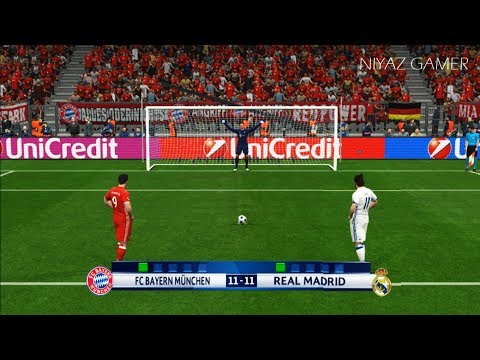 BAYERN MUNICH vs REAL MADRID | Penalty Shootout | PES 2017 Gameplay | UEFA Champions League thumbnail