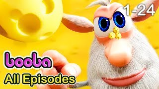 Booba - All Episodes Compilation (24-1) Funny cartoons for kids 2017 Kedoo ToonsTV
