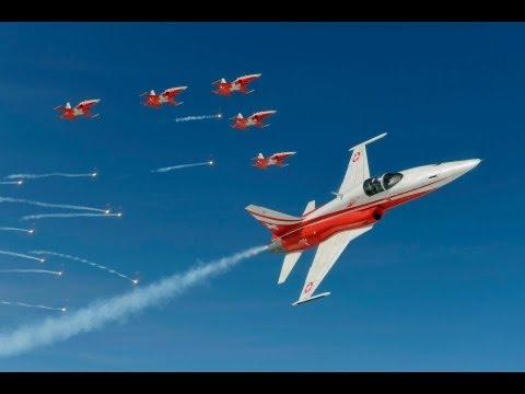 little Patrouille Suisse outdoor