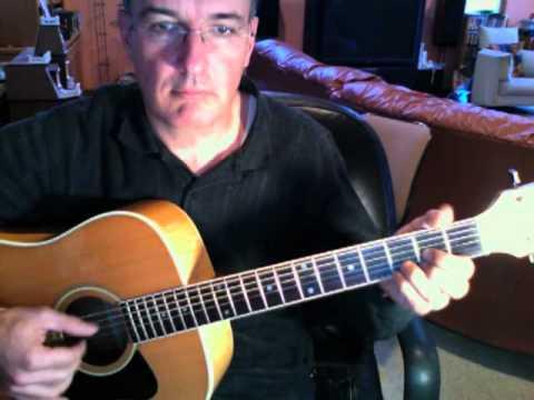 Jorma Kaukonen - Embryonic Journey Guitar Cover