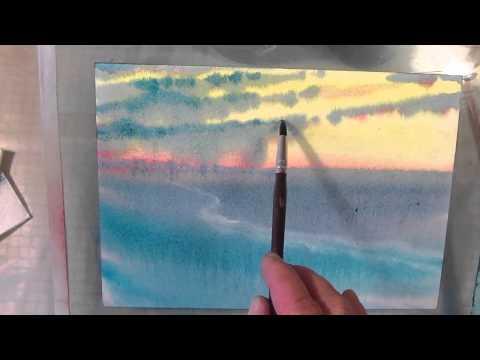 Видео как нарисовать степь