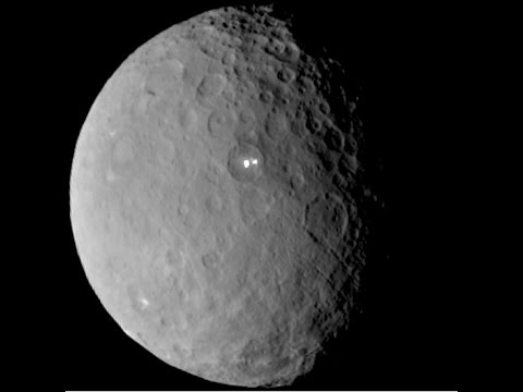 Are Bright Spots on Ceres Electric? | Space News