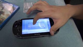 Sony PS Vita HD Unboxing!