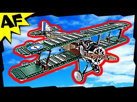 Lego City SOPWITH CAMEL 10226 Stop Motion Build Review