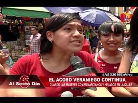 Mujeres Sufren Acoso Por Comer Marcianos O Helados En La Calle