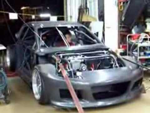 RX8 Three Rotor Dyno Run