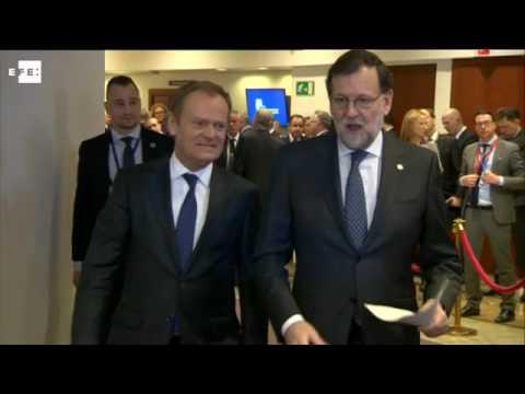 David Cameron da explicaciones del brexit a los demás líderes europeos