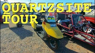 Bike Shopping Fail & Exploring Town of Quartzsite