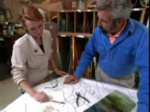 Bob Vila Learns How Stained Glass Windows Are Made