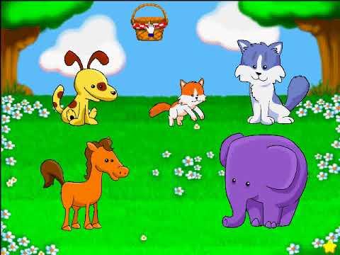 Coelho Sabido Maternal (Reader Rabbit Toddler): Part 2 - Bingo dos Bebes.avi