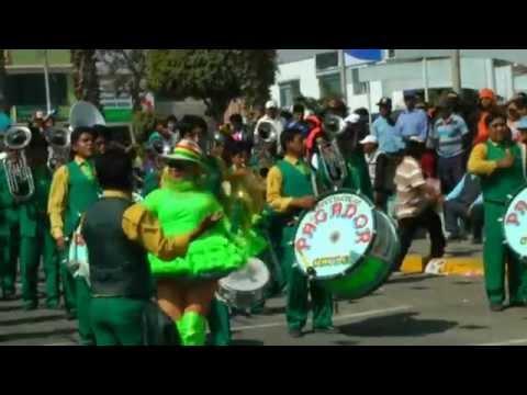 Festividad San Agustin 2014 Tacna - Banda Espectacular Pagador de Oruro - Bolivia