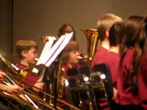 Centennial Middle School Valentines Band Concert