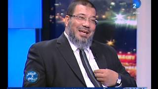 مصر فى يوم أشرف ثابت أنا وابنى فى بيت واحد وكل واحد فينا فى  دائرة انتخابية مختلفة