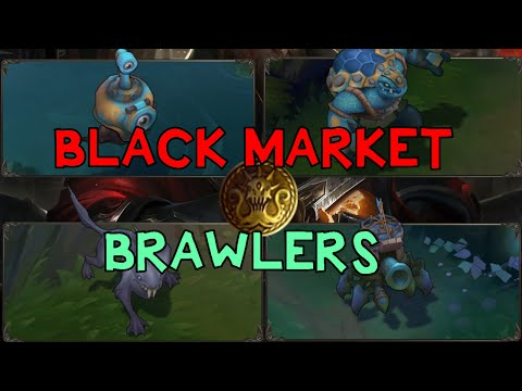 YENİ OYUN MODU: BLACK MARKET BRAWLERS | Türkçe | League of Legends | PBE