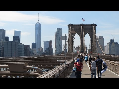 Sightseeing in New York City / One World Trade Center / Brooklyn bridge / 911 memorial museum