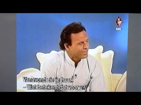 Julio Iglesias interview for Dutch Television in Miami part1/3