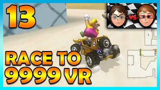 Mario Kart Wii - VISUALITY! The GOAT Combo?! - Race to 9999 VR | Ep. 13