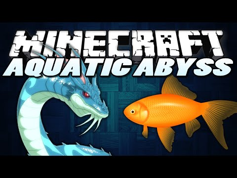Minecraft Mods AQUATIC ABYSS Sea Monsters Minecraft Mod Showcase