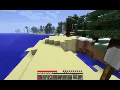 Minecraft- Episode 1 (Faithful 64x64 Recourse Pack)