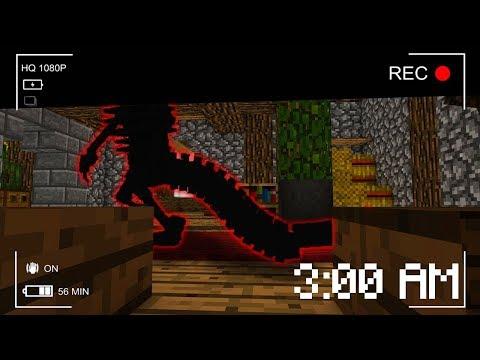НЕ Играйте В Майнкрафт ПЕ в 3:00 ЧАСА НОЧИ! Выживание Ужасы для детей Видео Minecraft Pocket Edition