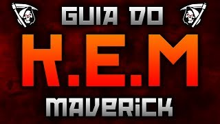 COD Ghosts: Guia do KEM | Maverick (Maverick KEM Strike Gameplay)