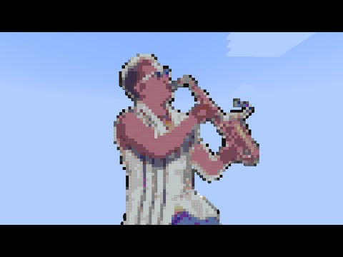 Epic Sax Guy in Minecraft