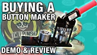 Button Maker Review & Demo
