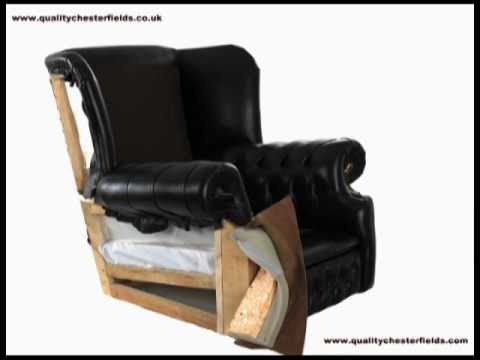 Leather Chair Upholstery - Time Lapse - Video