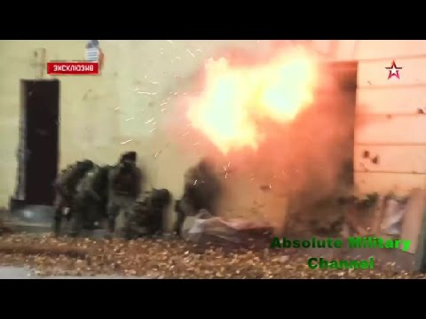 Russian Spetsnaz Syria Introduction. KSO 2017