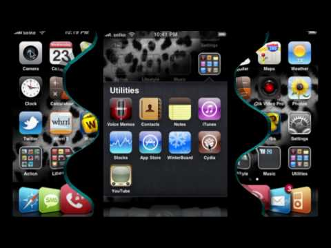 iPhone 3g 5 Icon Dock 4.0 Firmware