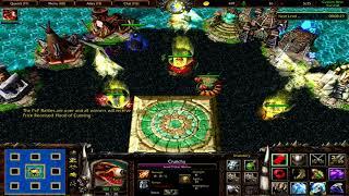 Warcraft 3 | Custom Hero Survival v2.6c | 2v1 | +6021 Dps on pheonix, seems legit