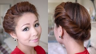 2 Minutes Spring Twist Hair Tutorial