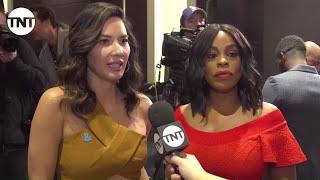 SAG Awards Nominations Hosts: Niecy Nash & Olivia Munn | 24th Annual SAG Awards | TNT