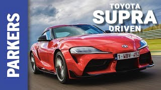 Toyota GR Supra 2019 First Drive Review | Would YOU buy one over a Cayman?