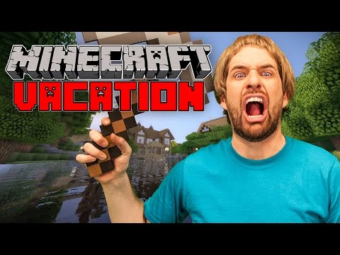 Real Minecraft Vacation video