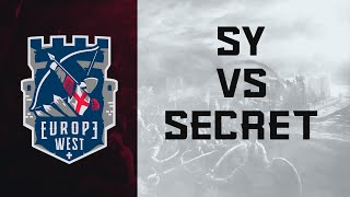ECL Europe West 3v3 SY vs Secret [Semifinals]