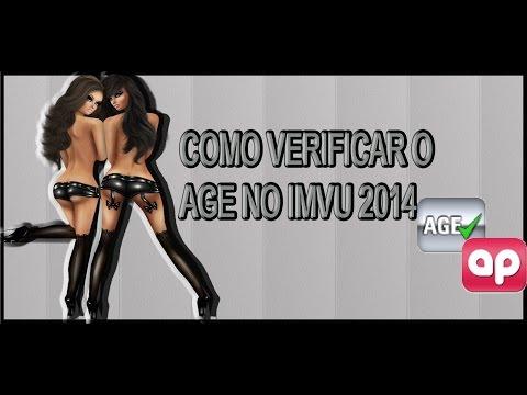 COMO VERIFICAR SEU O AGE NO IMVU 2015