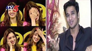 Tamannaah Reaction When Hero Nikhil Reveals Her Secrets wSubtitles | Tamannaah Interview