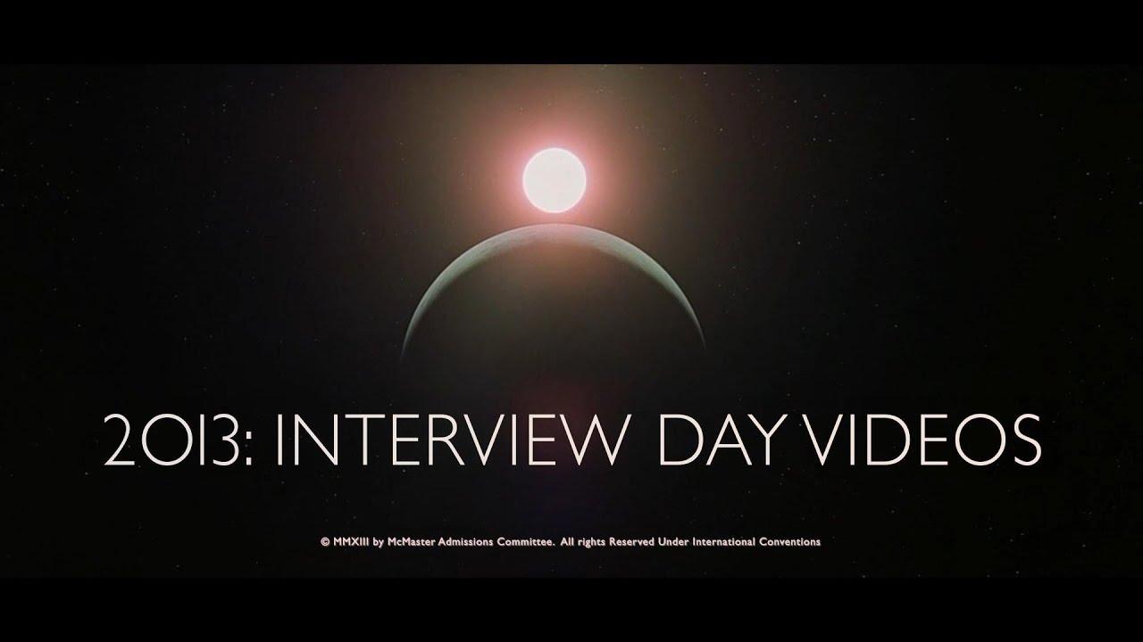 mcmaster medicine interview video 2013 youtube. Black Bedroom Furniture Sets. Home Design Ideas